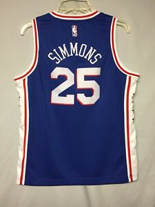 NBA Philadelphia 76ers Ben Simmons Nike Youth Jersey Size Large