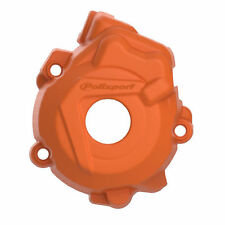 KTM Ignition Cover Protector SXF 250 / 350 2012 - 2015 Orange Moto X Polisport