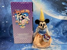 """Disney Brave Little Tailor Minnie Mouse Musical Porcelain Dolls 16"""" New In Box"""