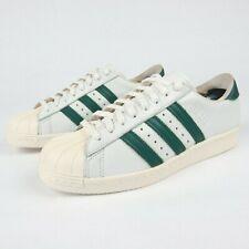 Adidas Superstar Men's 7 US 6.5 UK 40 EUR White Gray Leather Adidas Shell Toe