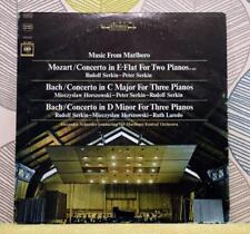 MOZART / BACH - Music From Marlboro [Vinyl LP,1966] USA Import MS 6847 *EXC