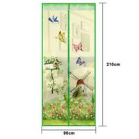 Tür Magnetvorhang Netz Insektenschutz Vorhang Fliegengitter Balkontür 90*210cm