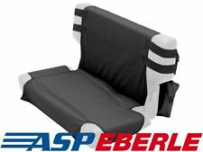 Sitzbezugset hinten inkl. Taschen schwarz Bezug Jeep Wrangler TJ 96-06
