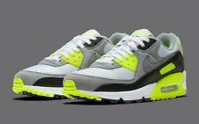 Nike Air Max 90 OG 2020 Running Shoes Volt White Gray Black CD0881-103 Men's NEW