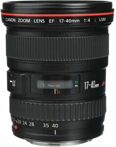 [NEAR MINT] CANON EF 17-40mm f/4 L USM Wide Angle Lens from JAPAN (N333)