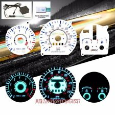 White Indiglo Reverse El Glow Gauges for Mazda 97-97 MX-6/626 AT Auto w/TACH