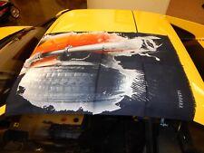 Beautiful brand new Ferrari Factory Formula 1 F1 Vintage Exhaust Winter Scarf GT