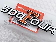 NEW GENUINE Honda Side Cover Plastic Emblem for CB500 K0 K1 Four (87124-323-000)