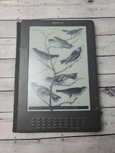 Amazon Kindle DX 2nd Gen  |  Model D00801  |  3G only  |  Works | See Desc