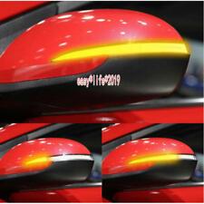 For Hyundai Elantra 2016-2019  LED Side Mirror Dynamic Turn Signal Light
