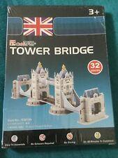 Tower Bridge 3-D Puzzle, 32 Pieces