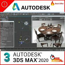 Autodesk 3Ds Max 2020 license  Full Version  Fast Delivery