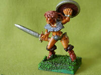 A8 WARHAMMER - FIGHTER BARBARIAN FEMALE 1980S METAL MODEL
