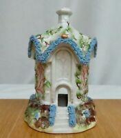 Antique Staffordshire Pottery Pastille Burner   -  81171