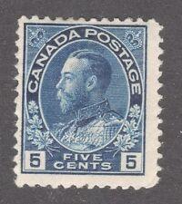 CANADA STAMP #111  5c KING GEORGE V  -- UNUSED