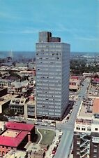 Shreveport Louisiana~Panorama~Beck Building~Library~Washington Youree Hotel~1957