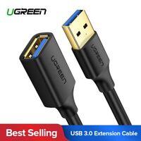 Ugreen 0.5M-3M USB 3.0 USB Verlängerung Kabel für Tastatur, Drucker, Scanner
