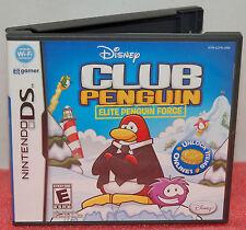 Details about  Nintendo DS DSi Club Penguin Elite Penguin Force Video Game Mini