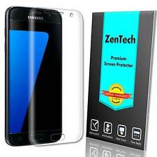 2X ZenTech Clear [FULL COVER] Screen Protector Guard Film For Samsung Galaxy S7