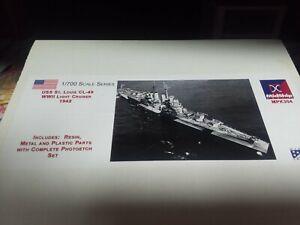 Midship Models USS St Louis 1/700 resin kit