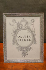 OLIVIA RIEGEL Crystal Pave 8x10 Photo Frame New in Box