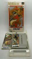 Shanghai III 3 Video Game for Nintendo Super Famicom NTSC-J BOXED TESTED