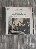 Mozart: Piano Quintet, K. 452, Adagio and Rondo, K. 617 / Beethove... -  CD 1OVG