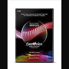 EUROVISION SONG CONTEST,VIENNA 2015 3 DVD (480 min) NEUF