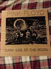 Laser Etched Pink Floyd- Dark Side.