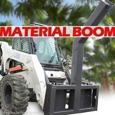 Material/Tree Boom Attachment for Skid Steers,Lift 10,000 Lbs! Fits Bobcat