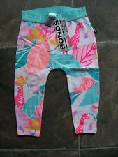 83b34cafe0183 BNWT Baby Girl's Bonds Jungle Animals Stretchies Leggings/Pants Size 0