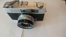 Konica Auto S2 35mm Rangefinder Camera w/case Hexanon 45mm f/1.8 new battery