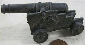 Vintage Die Cast Metal Ship Cannon Redondo Bombardero