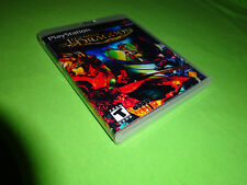 Empty Replacement 4-Disc Custom PS3 Case  - The Legend of Dragoon PS1 PS2 PS3
