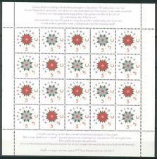 NVPH V1542-1543 Decemberzegels 1992 postfris (MNH)