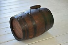 Antique 19th Century West Country Costrel Harvest Barrel,Agricultural,Farming,