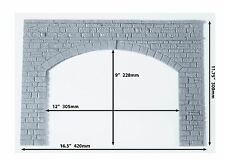 More details for  x2 - 'g scale' sm32/45 'garden railway' double track tunnel fascia portal