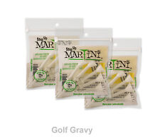 """MARTINI Step Up Golf Tees - 3 packs of 5 white STEP-UP tees 3 1/4"""""""