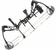 Diamond Edge SB-1 Black Right Hand Compound Bow Package A12698