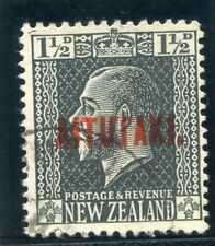 Cook Islands Aitutaki 1917 KGV 1½d slate very fine used. SG 21. Sc 21.