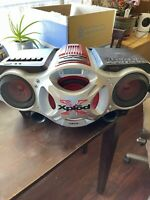 Sony Xplod CFD G700CP CD Radio Cassette Boombox With Aux Tested  No Remote