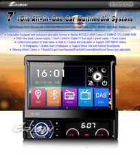AUTORADIO 1 DIN GPS ERISIN FRONTALINO ESTRAIBILE HD DVD USB SD DAB BLUETOOTH