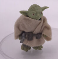 Vintage 1980 Kenner Star Wars Figures Near Complete Rare ESB YODA Robe Belt Toy