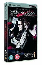 Sweeney Todd UMD PSP Brand New Sealed