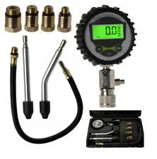 LCD Petrol Engine Cylinder Pressure Tester Car Compression Gauge Test Kit D30