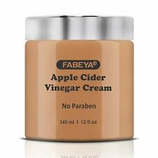 FABEYA Natural Apple Cider Vinegar Cream 340 ml Free Ship