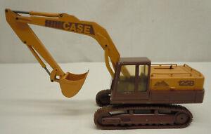 CONRAD Case 125B 1/35 Diecast Excavator Rodeo Champship '86 Souvenir #2965