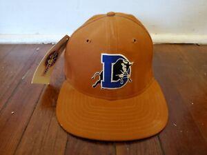 Very Rare Vintage Durham Bulls Snapback Hat Orange NEW ERA NEW Plz Read
