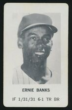 1970 Milton Bradley BASEBALL GAME -Ernie Banks (Chicago Cubs)