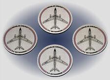 Douglas A-3 Skywarrior Coaster Set - Made in the USA